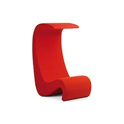 Amoebe 高背休闲椅 Amoebe Highback 维特拉 vitra品牌 Verner Panton 设计师