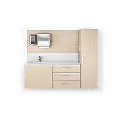 莫拉医疗洗手台系统 Mora System 赫曼米勒 herman miller品牌 Colin Nourie 设计师