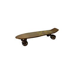 我的滑板 My skateboard 塞莱蒂 Seletti品牌 Alessandro-Zambelli 设计师