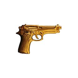 我的枪 My gun 塞莱蒂 Seletti品牌 Alessandro-Zambelli 设计师