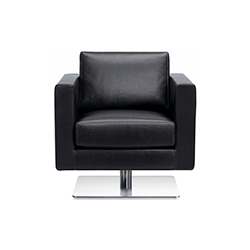 帕克旋转沙发 Park Swivel Armchair 维特拉 vitra品牌 Jasper Morrison 设计师