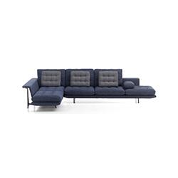 格朗沙发 Grand Sofa 维特拉 vitra品牌 Antonio Citterio 设计师