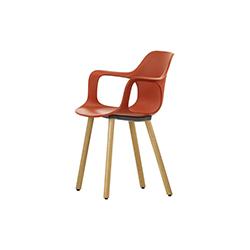 哈尔餐椅 HAL Armchair Wood vitra Jasper Morrison