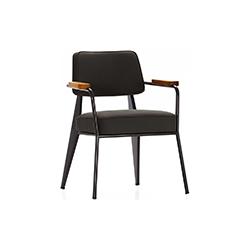 领导椅 Fauteuil Direction chair 维特拉 vitra品牌 Jean Prouve 设计师