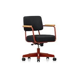 透视转向椅 Fauteuil Direction Pivotant 维特拉 vitra品牌 Jean Prouve 设计师
