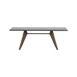 EM 餐桌 EM Table 维特拉 vitra品牌 Jean Prouve 设计师
