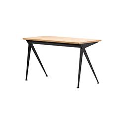 指南针方向桌 Compas Direction desk 维特拉 vitra品牌 Jean Prouve 设计师