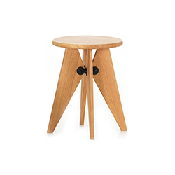 苏威小凳子/边几 Tabouret Solvay 维特拉 vitra品牌 Jean Prouve 设计师