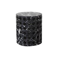 穿孔大理石凳子 Perforated Marble Stool 凯莉韦斯特勒 Kelly Wearstler品牌 Kelly Wearstler 设计师