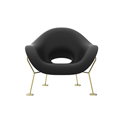 蛹型休闲椅 Pupa Armchair Qeeboo Qeeboo品牌 Andrea Branzi 设计师
