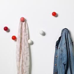 衣服挂钩 Coat Dots 维特拉 vitra品牌 Hella Jongerius 设计师
