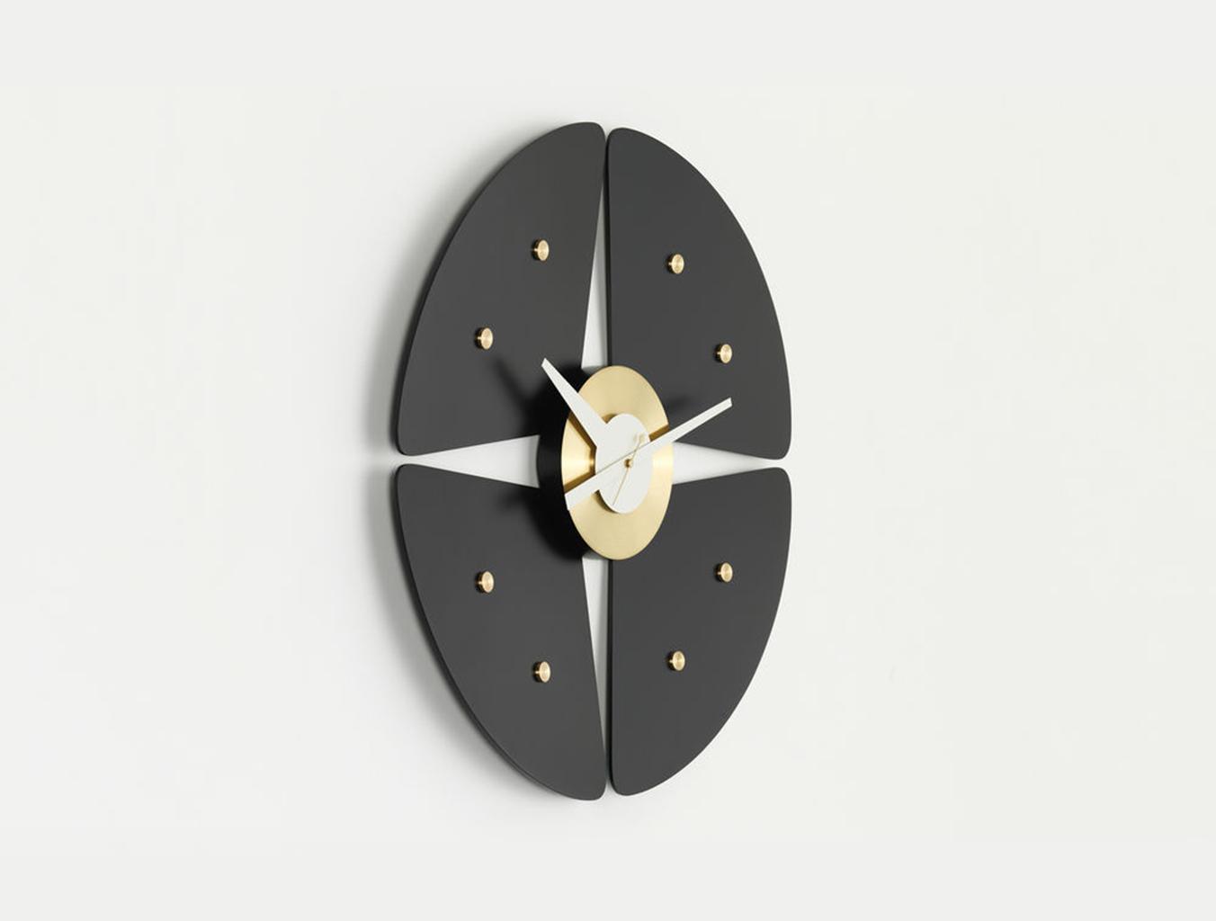 挂钟-花瓣钟