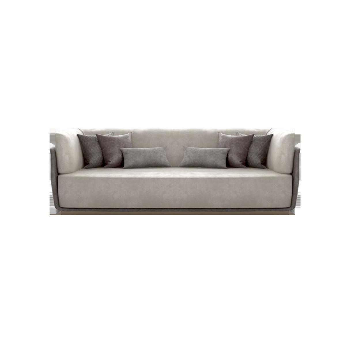 客厅|沙发|创意家具|现代家居|时尚家具|设计师家具|轻奢风格多人沙发H3