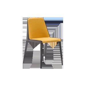 轻奢风格餐椅H44