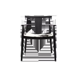新中风格餐椅H71