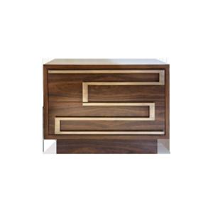 轻奢风格床头柜H8