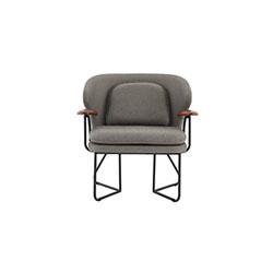 Chillax 休闲椅 Chillax Lounge Chair 恒星 Stellar Works品牌 Nic Graham 设计师