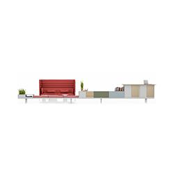 Level 34 多功能台柜组合 Level 34 维特拉 vitra品牌 Werner Aisslinger 设计师