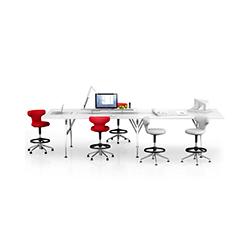 Ad Hoc 高脚洽谈台 Ad Hoc Solitaires 维特拉 vitra品牌 Antonio Citterio 设计师