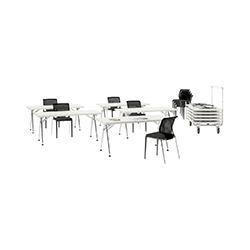 Click 折叠会议条桌 Click 维特拉 vitra品牌 Alberto Meda 设计师