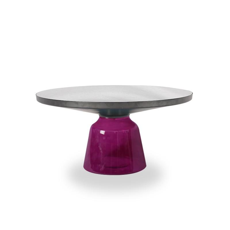 客厅|茶几/边几|创意家具|现代家居|时尚家具|设计师家具|北欧简约玻璃铃铛小茶几