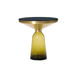 北欧简约玻璃铃铛小茶几