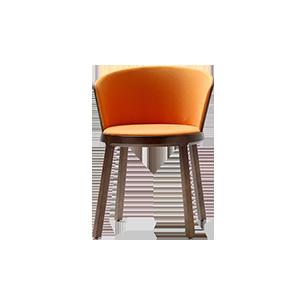 北欧简约创意软包餐椅