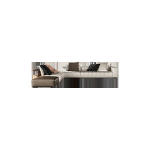 轻奢极简组合沙发