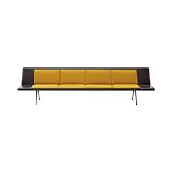 Zinta 公共空间沙发 Zinta Waiting arper arper品牌 Lievore Altherr Molina 设计师