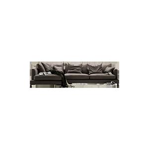 意式极简轻奢沙发