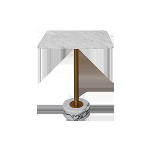 现代简约大理石小方桌