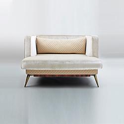 维多利亚休闲沙发 Victoria Armchair 罗萨托 rossato品牌 Hangar Design Group 设计师