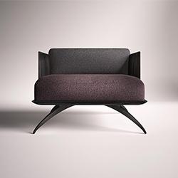 伊丽莎白扶手椅 Elizabeth Armchair 罗萨托 rossato品牌 Hangar Design Group 设计师