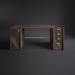 汉普顿书桌/写字桌 Hampton 罗萨托 rossato品牌 Hangar Design Group 设计师
