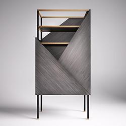 燕尾服装饰柜 Tuxedo Cabinet 罗萨托 rossato品牌 Hangar Design Group 设计师