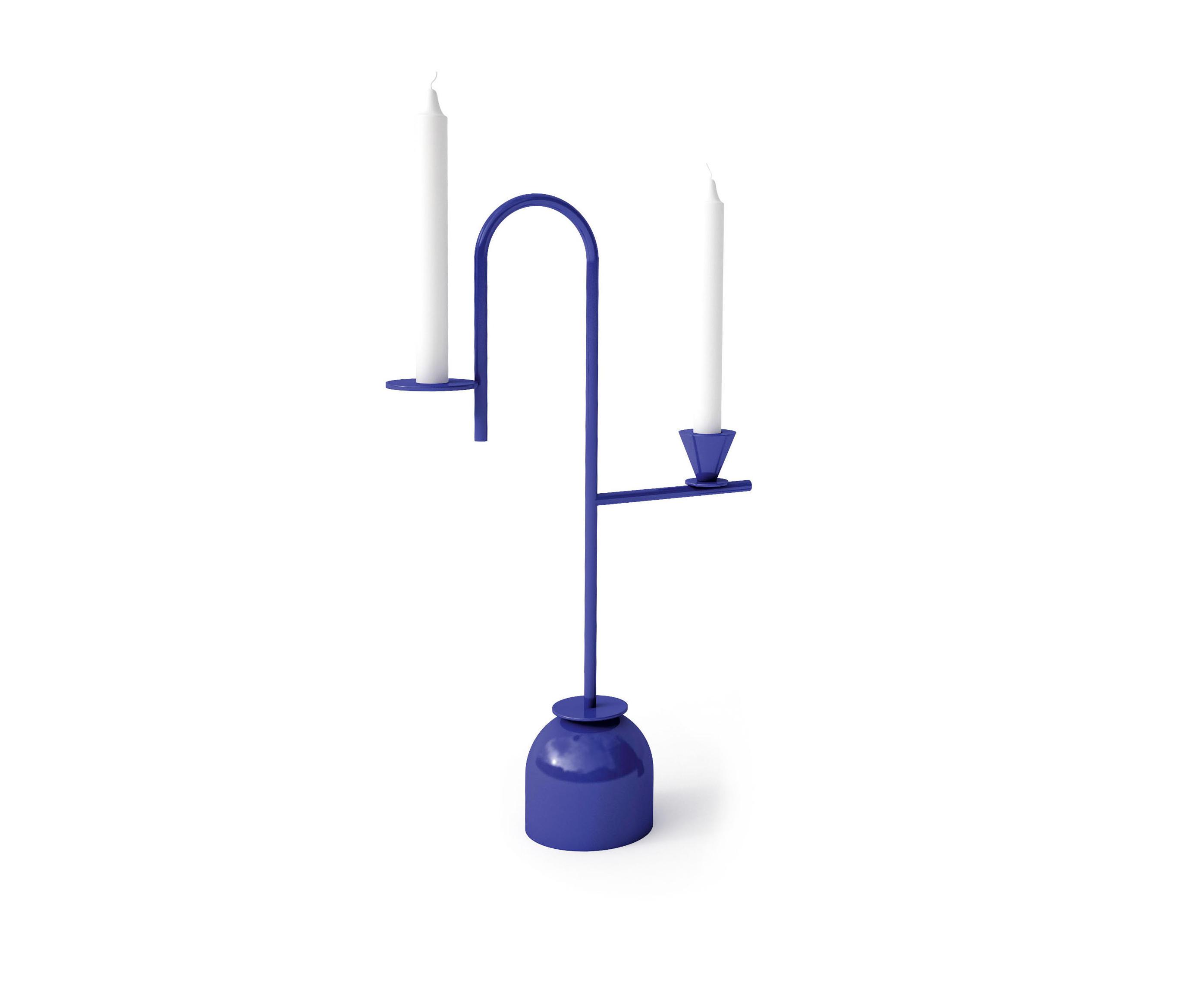 托马斯达里尔 Thomas Dariel| 蓝色烛台 Blue Candleholders