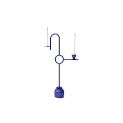 蓝色烛台 Blue Candleholders cappellini Thomas Dariel