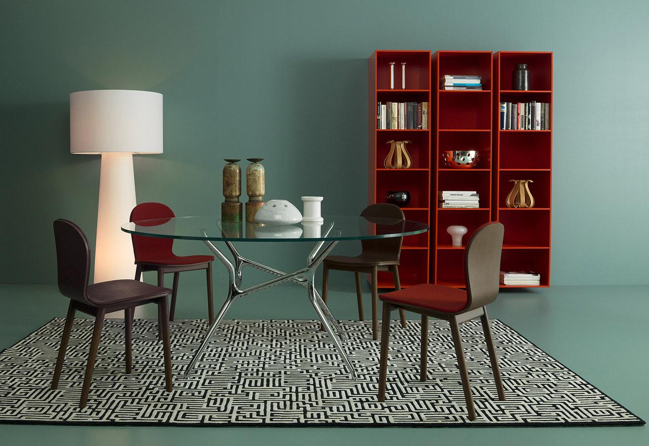 桌几|餐桌|创意家具|现代家居|时尚家具|设计师家具|定制家具|实木家具|Branch餐桌