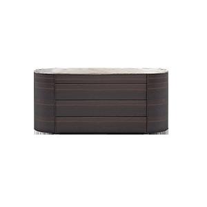 北欧简约现代实木装饰柜