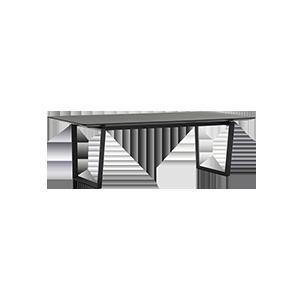 意式极简大户型长方形餐桌
