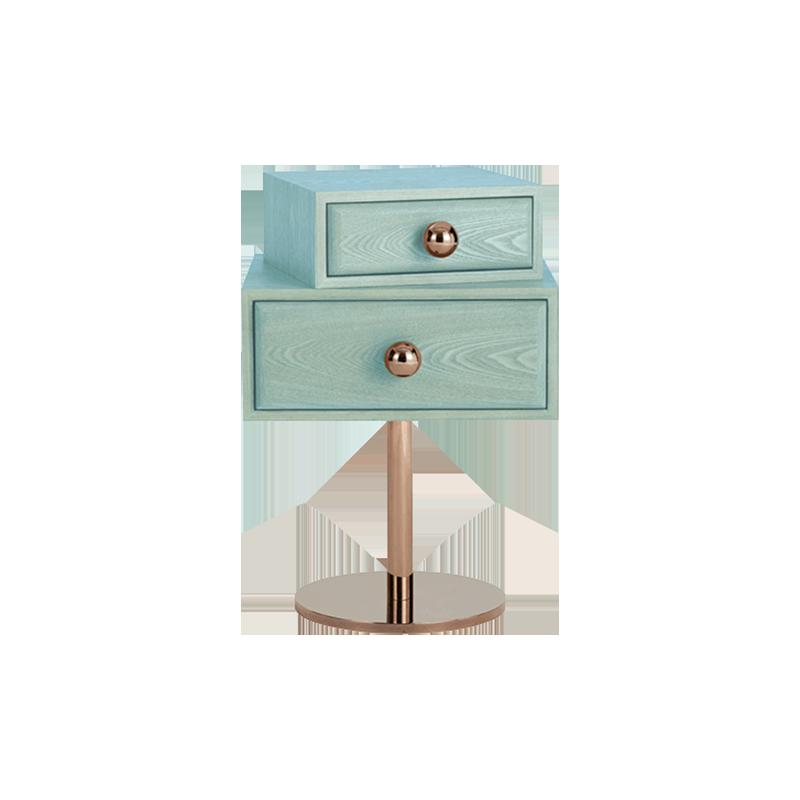 卧室 床头柜 创意家具 现代家居 时尚家具 设计师家具 简约实木风创意个性床头柜