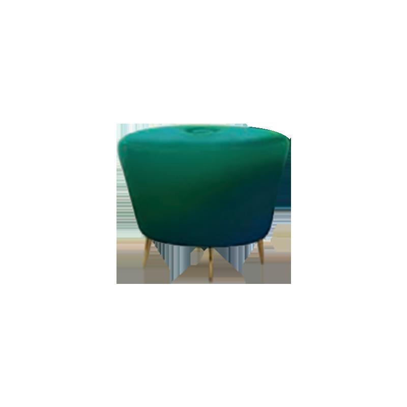 客厅|休闲椅|创意家具|现代家居|时尚家具|设计师家具|创意北欧单人沙发/脚蹬