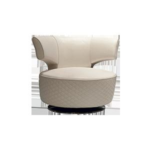 轻奢后现代经典休闲椅