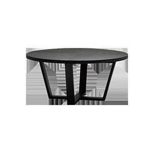 意式极简小型圆形餐桌