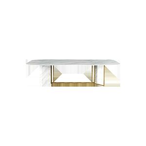 意式极简方形餐桌