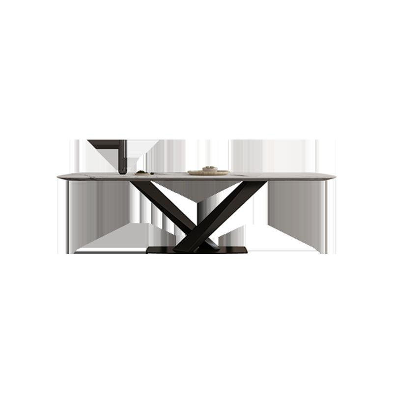 餐厅|餐桌|创意家具|现代家居|时尚家具|设计师家具|意式简约大理石餐桌