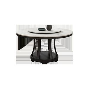 意式极简大理石餐桌