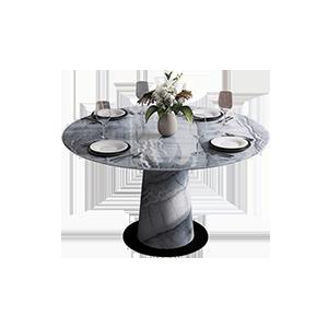 北欧极简轻奢简约现代餐桌