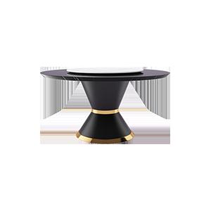 轻奢后现代大理石餐桌