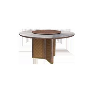 后现代大理石意式餐桌